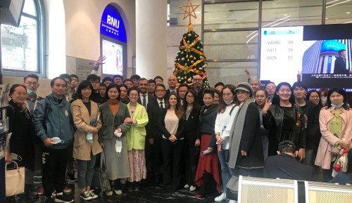 Visit to BNU by doctoral students from City University of Macau (IROPC and FOB)